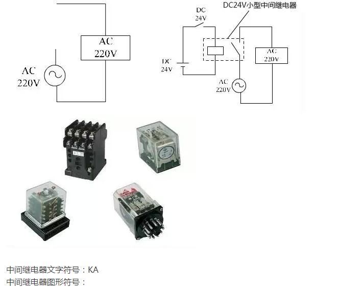 中间继电器的电气符号_中间继电器文字符号和图形符号